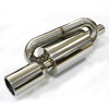 Beautiful High-end Mirror Polished Stainless Steel 201 Exhaust Muffler