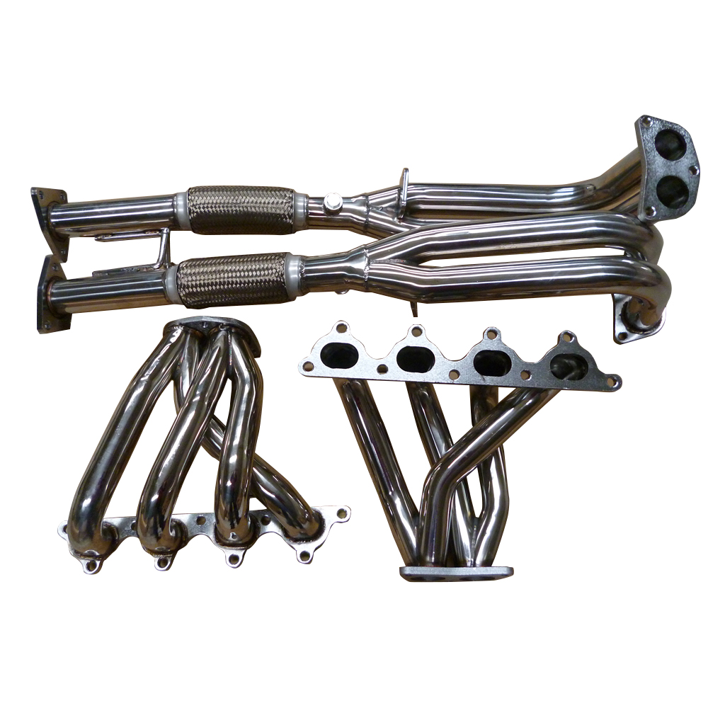 Honda Prelude VTEC H22 92-96 Stainless Steel 356 Mirror Polished Exhaust Header