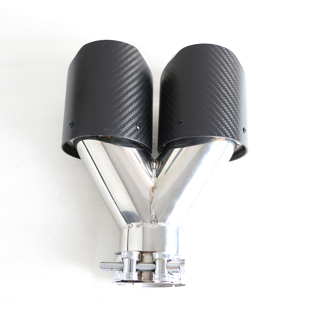 Hot Sale Carbon Fiber High Temperature Resistant Stainless Steel Exhaust Tip