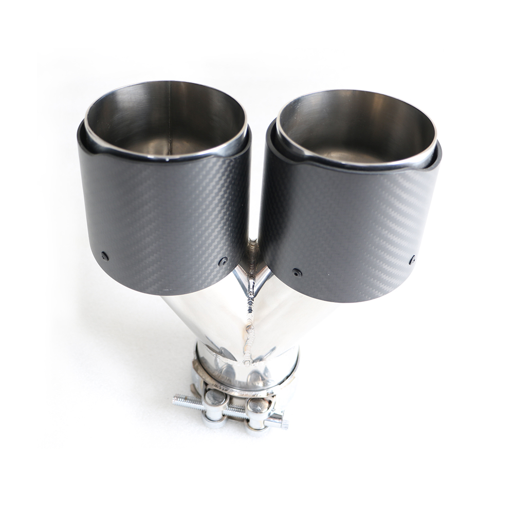 Carbon Fiber Stainless Steel 304 Exhaust Tip