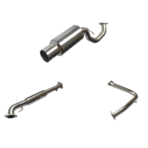 95-98 MITSUBISHI ECLIPSE Stainless Steel 201 Mirror Polished Exhaust System