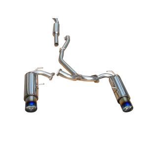 05-08 Tacoma V6 Stainless Steel Customizable Car Cat Back Exhaust System