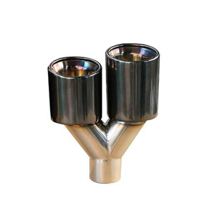Titanium Black SS304 Exhaust Tip for Hks
