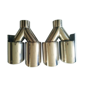304 Stainless Steel Material Car Exhaust Tips