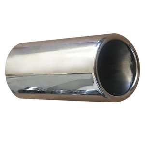 GRWA High double Wall Car stainless exhaust tip